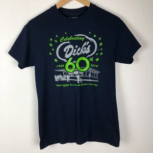 Navy blue 12th man Dick's Drive-In tee